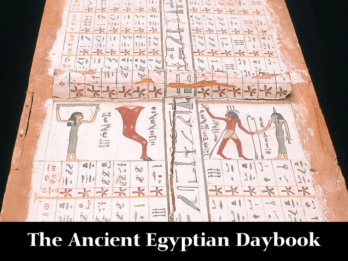 The Ancient Egyptian Daybook - Coming December 2013!
